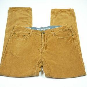 Mossimo Brown Corduroy Pants Size 34/30
